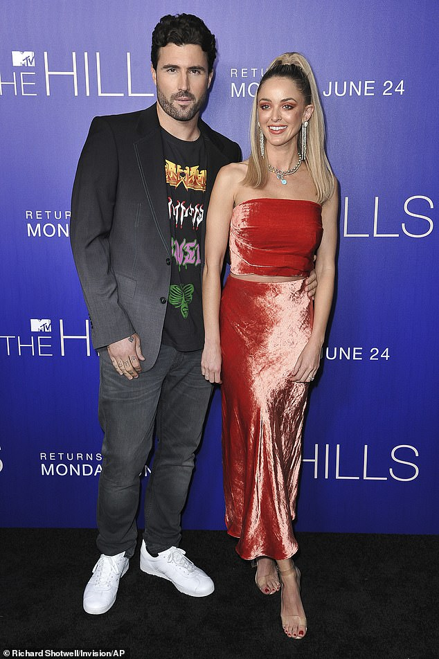 Ex's approval:In June, it was reported Brody introduced Briana to his estranged wife Kaitlynn Carter after a month of dating ¿ and the pair are said to have hit it off; Brody and Kaitlynn pictured in 2019
