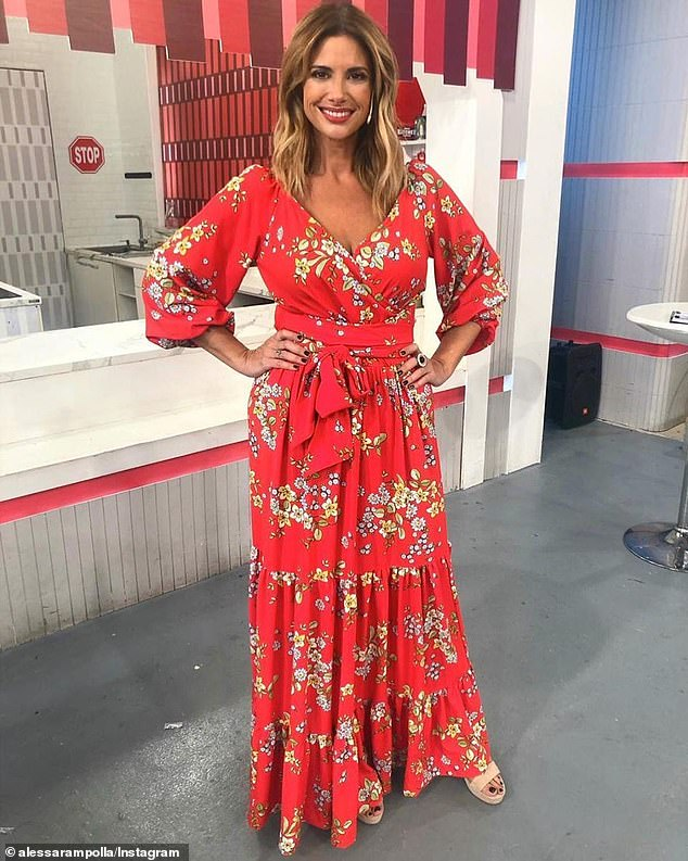 Coming in hot! 'I am thrilled to be joining John and Mel in Australia's biggest social experiment,' Alessandra said on Wednesday
