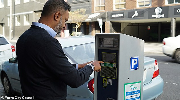 Motorists were unfairly fined while parked in the CBD due to a confusing app (stock image)
