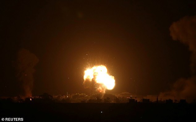 Palestinian leaders have reacted angrily to the deal with rockets fired from Gaza into Israel, prompting Israel to launch bombing raids in return