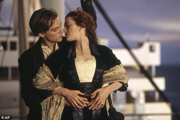 Iconic: The scene Yaz refers to is when Leonardo DiCaprio (Jack) paints Kate Winslet (Rose) topless while on the Titanic