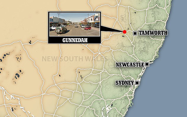 Gunnedah, known best for being the hometown of supermodel Miranda Kerr, is about an hour west of Tamworth and 450km from Sydney