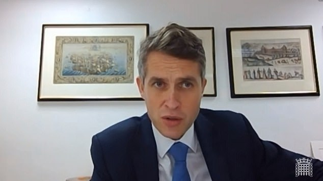 The Education Secretary, who has been accused of trying to shift blame for the grades crisis to the grades watchdog, declined several opportunities to say it was 'fit for purpose' as he was grilled by MPs