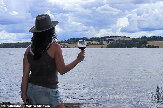 A self-confessed 'country girl' will be celebrating her $20million lotto win with a visit to the pub (stock image)