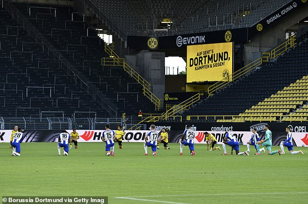 10,000 spectators will be admitted to Dortmund's Signal Iduna Park for this weekend's game