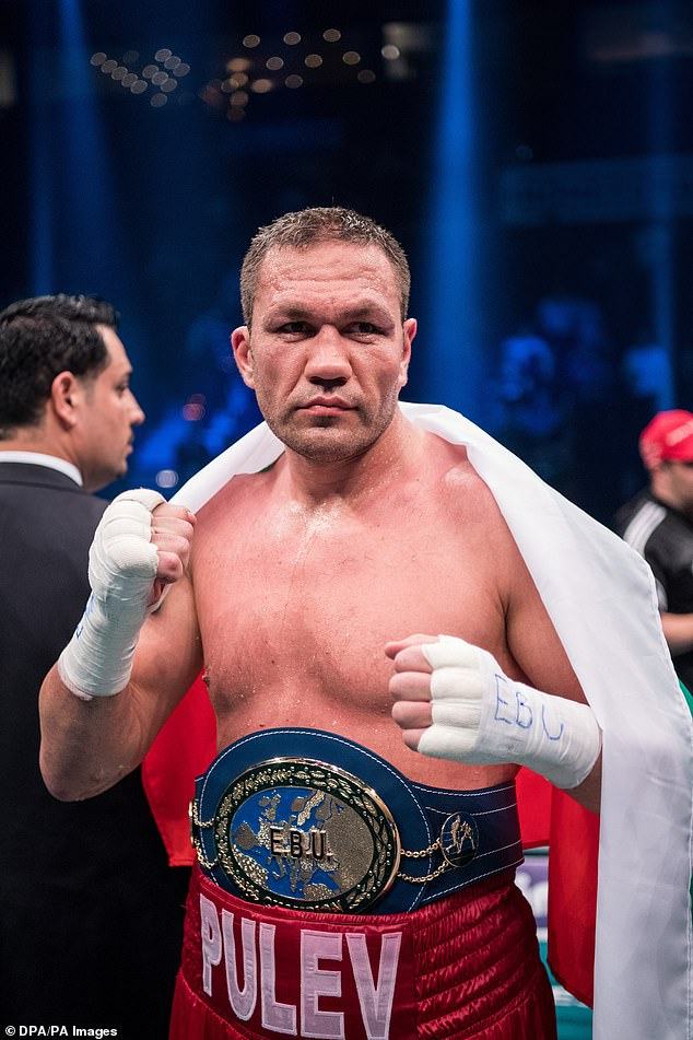 AJhad been due to face Kubrat Pulev in June at the Tottenham Hotspur Stadium