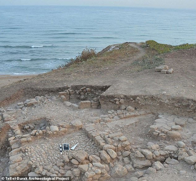 The remains of a house found at Tell el-Burak.Excavations have yielded remains of storerooms and a courtyard