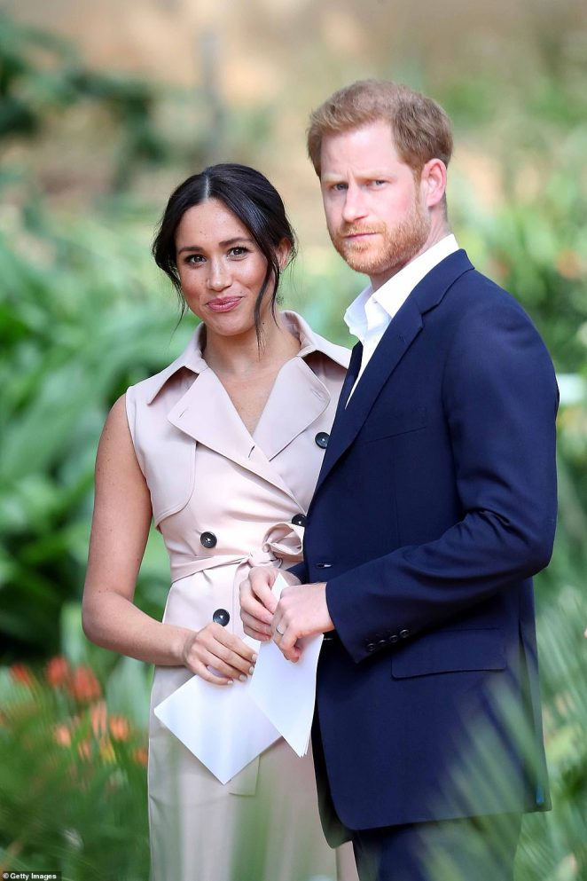The Sussexes, who secured a $9.5m mortgage to buy their sprawling 5.4-acre estate, have been living there for eight weeks