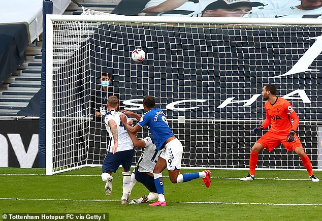 Dominic Calvert-Lewin's second half header won the Premier League opener at Tottenham