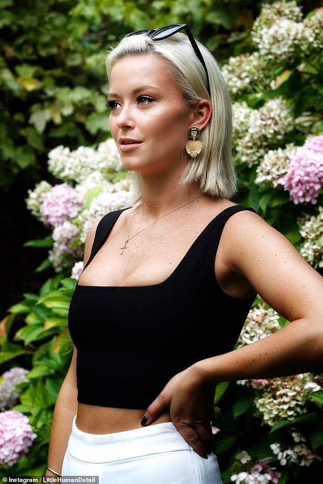 Incident: Last month, the cast were left 'shaken' after a car burst into flames near the West Sussex country manor where they were filming (Olivia Bentley pictured)