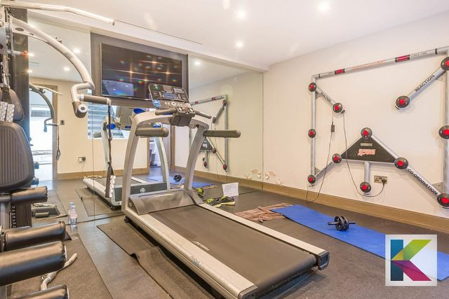 The gym also boasts a BATAK machine that is often used by the world's top sportsmen in maintaining their reaction speed