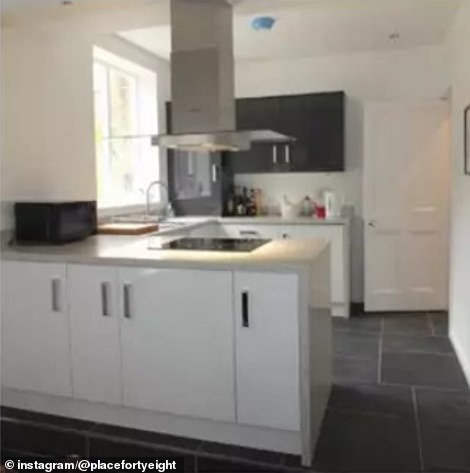 One of the largest transformations came in the form of the kitchen, which was modern personality less before Katy's renovation
