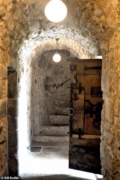 Kilmartin Castle's epic front door