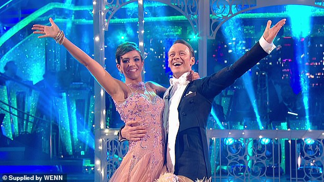Impressive: Another potential contestant is Wayne Bridge, whose wife Frankie previously finished as runner-up on Strictly Come Dancing in 2014 (pictured)