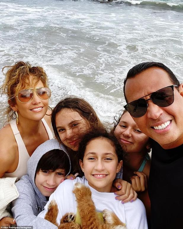 Mixed family: The pair had reportedly planned to stay at home, but had changed their heart and decided to sell for TMZ