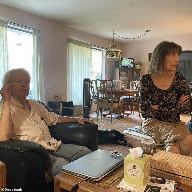 Philip Ruble (left), 68, and Millicent Catarncuic (right), 77, who both died in a California wildfire were preparing to evacuate when they changed their based on 'erroneous information'