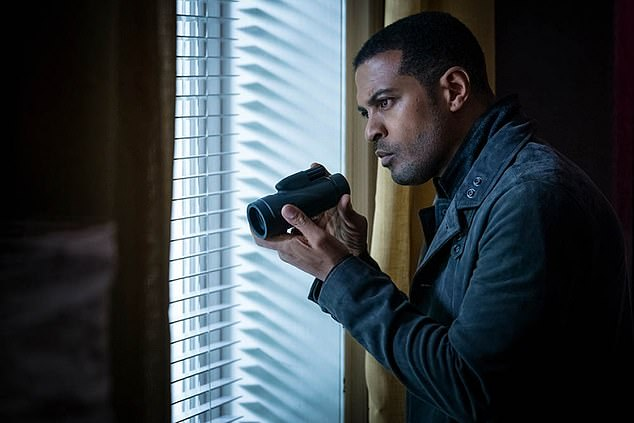 Teaser:ITV previously teased a first look image of Noel Clarke's character gazing intently out of a window as he watches a suspect (there is no assertion Noel is the cast member with coronavirus)