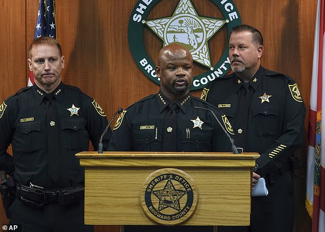 Broward Sheriff Gregory Tony removed Stambaugh, Miller, and another deputy, Edward Eason, for their failure to respond to the shooting