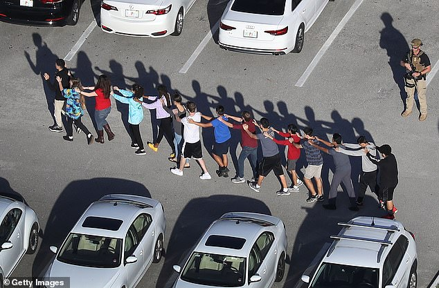 Stambaugh was fired after an investigation revealed that he hid behind his truck and drove away during the shooting rampage at Marjority Stoneman Douglas High School in Parkland, Florida, on February 14, 2018