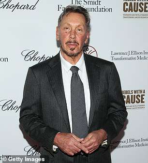 Oracle co-founder and president Larry Ellison