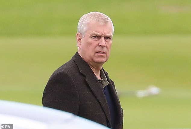 When Sir Hugo is knighted at Windsor Castle in 2016 he is worried it will be done by Prince Andrew, saying: 'I'm not kneeling down in front of that man. He might knight me with his todger'
