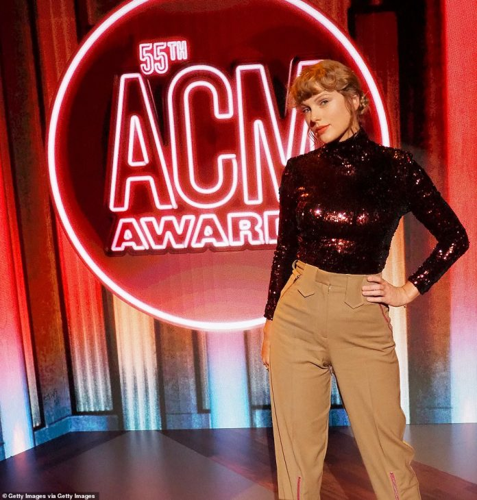 She's back: The superstar, who has nine ACM Awards to her name, returns to the show after a seven-year hiatus and will perform Betty from the Folklore album during the telecast