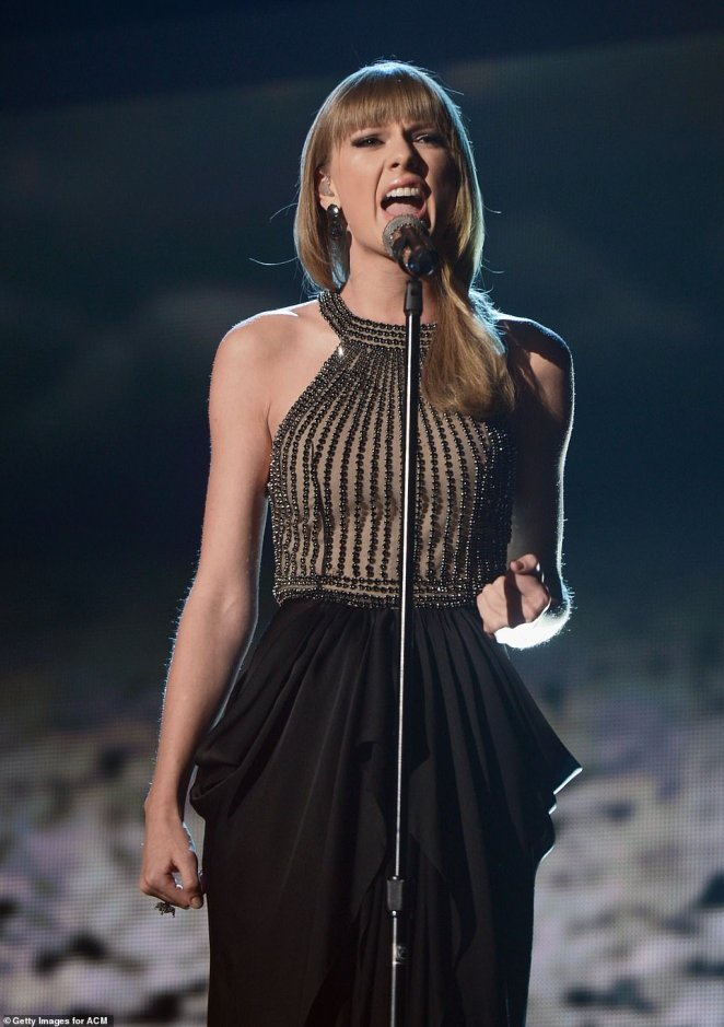 Longtime coming: Swift last appeared on the ACMs in 2013; Taylor pictured in 2013