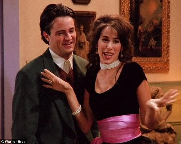 Beloved: 'The writers fell in love with Janice and they continue to bring me back and find ways to write her into episodes and seasons.' (L) Matthew Perry