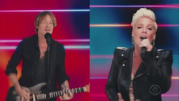 Couple Partner: Keith Urban & Pink actually performed their new track, One to Much, for the first time at the 2020 Academy of Country Music Awards.