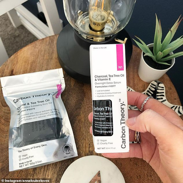 The cult beauty brand behind a best-selling facial soap (left) that banishes acne in just days has now unveiled its 'miracle serum' (right)for the first time in Australia