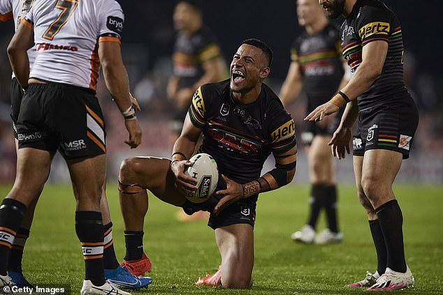 Stephen Crichton (pictured) has emerged as one of the NRL's brightest rising talents in 2020