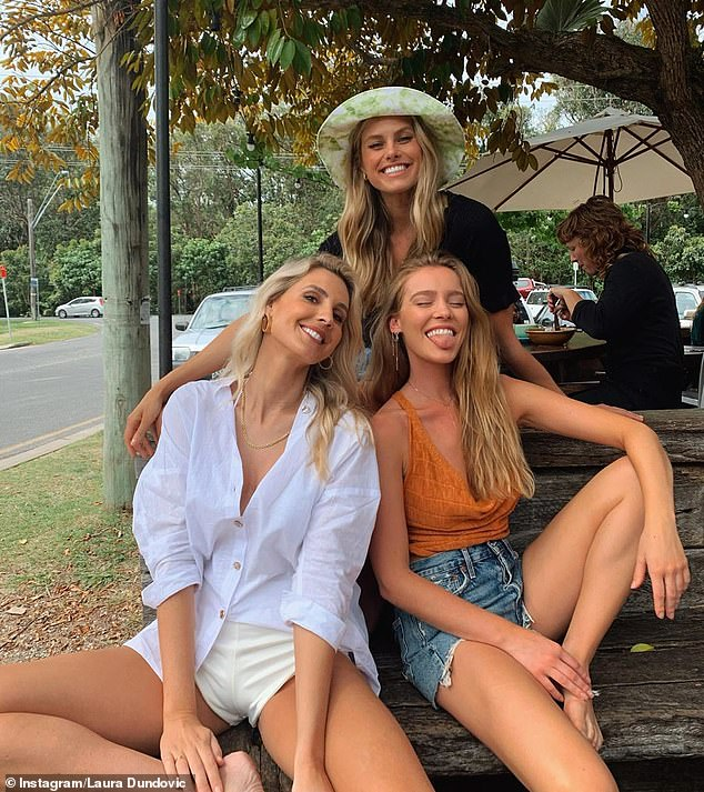 Pictured (L-R): Laura Dundovic, Natalie Roser and Georgia Gibbs