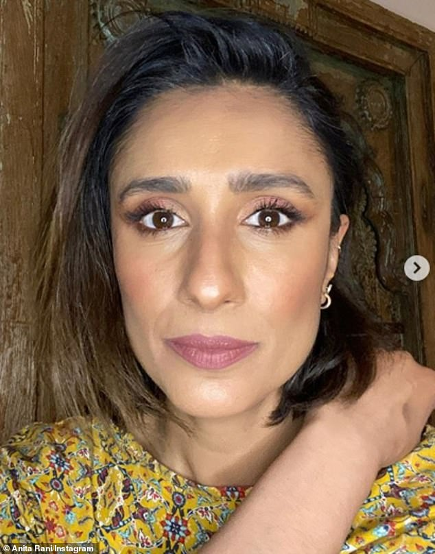 Open and honest: Countryfile star Anita Rani says lockdown has helped with her grief after suffering a miscarriage at the end of 2018