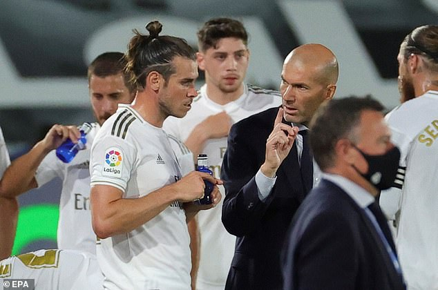 Bale's relationship with Real manager Zinedine Zidane had deteriorated and led to his exit