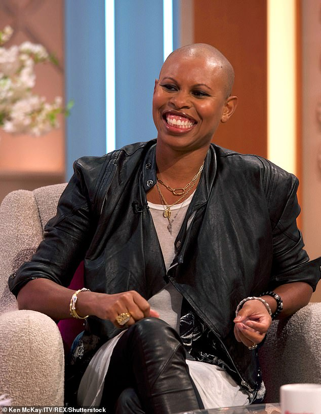 Getting married! Skunk Anansie's Skin has let slip she's engaged after her partner proposed during lockdown (pictured August 2019)
