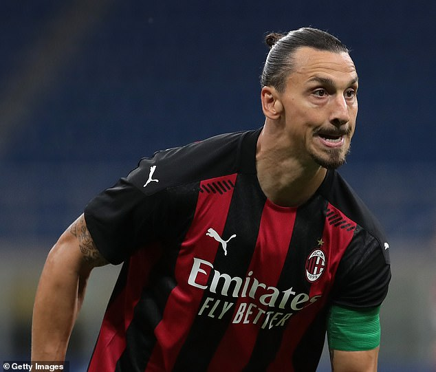 Zlatan Ibrahimovic is in the Milan squad for the encounter at the Tallaght Stadium in Dublin