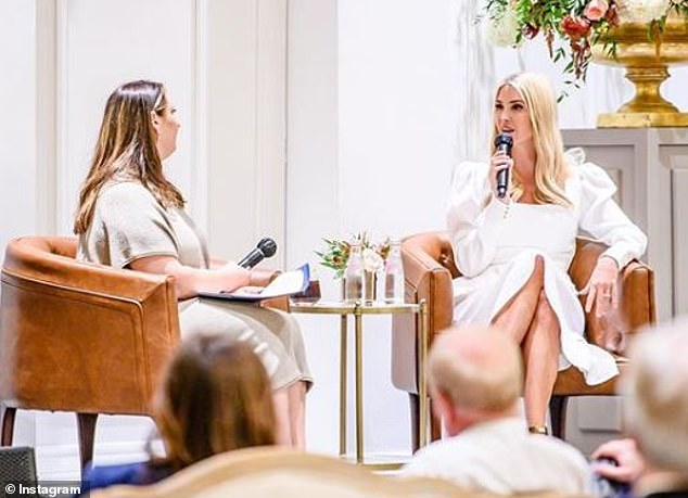 Busy bee:After she left Arizona, she flew to Austin, Texas, for another event