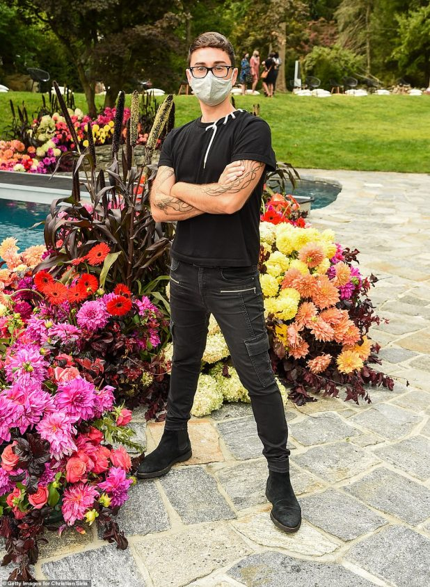 Fantastic Lifestyle: Siriano, 34, bought the Westport, Connecticut mansion from his wooden grounds in January and decided to hold his show there with COVID-19 security.