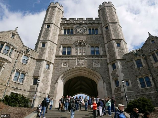 The US Department of Education said this week that it published an open letter at Princeton University addressing systematic racism by its president Christopher Eichergub.