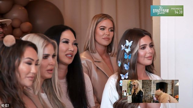 The guests:The Dash Dolls star had a big celebrity turnout with Kimora Lee Simons, Kim Zolciak and her daughter Brielle