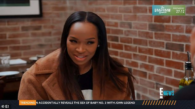 Irked:Malika, clearly irked by the suggestion, admitted that she feels as if her baby shower is being hijacked by Khloe and her twin sister