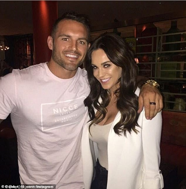 The pair briefly dated after Conn appeared on the show as a personal trainer while the cast filmed in Australia in 2013