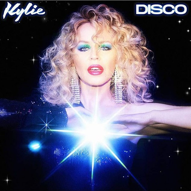Coming soon: Say Something is the first single from Kylie's upcoming album, Disco, due out November 6