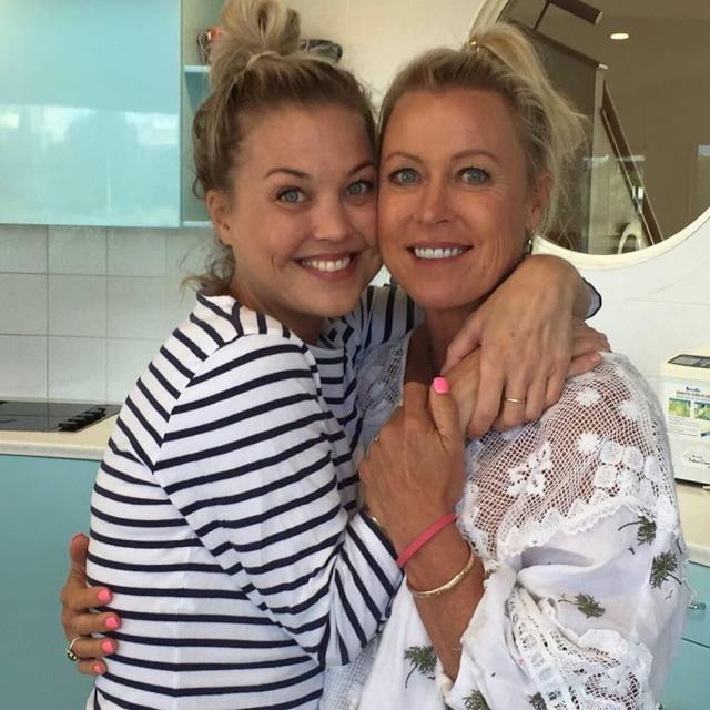 Devastated: Lisa Curry (right) has released a heartbreaking statement about the death of her daughter Jaimi (left) on Monday 14 September