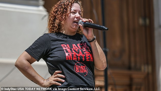 The activist, from Indianapolis, was a member of the Indy10 Black Lives Matter group