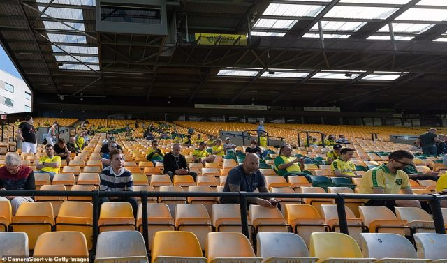 Carrow Road welcomed back Norwich City supporters today, as the club looks to recover following relegation from the Premier League