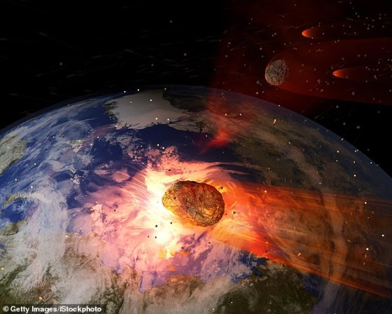 About 66 million years ago, a giant asteroid struck what is now known as Mexico's Yucatan Peninsula, causing the sudden extinction of more than 75 percent of Earth's plant and animal species.