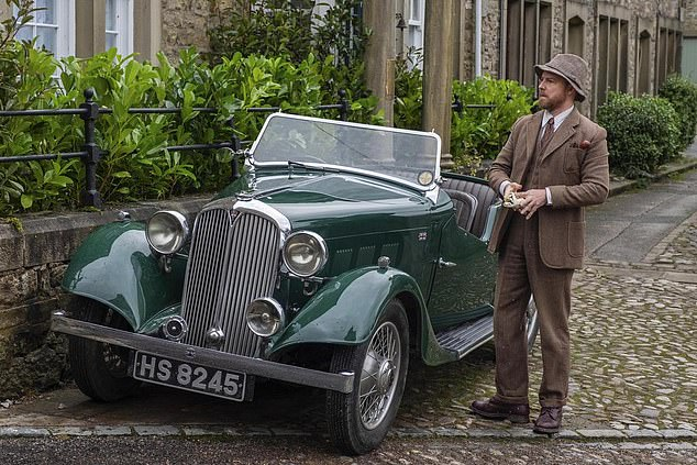 Several of the show's five million viewers noted that the car driven by Siegfried, played by Samuel West, is tiny compared to the sturdy Rover 75 used in the BBC original