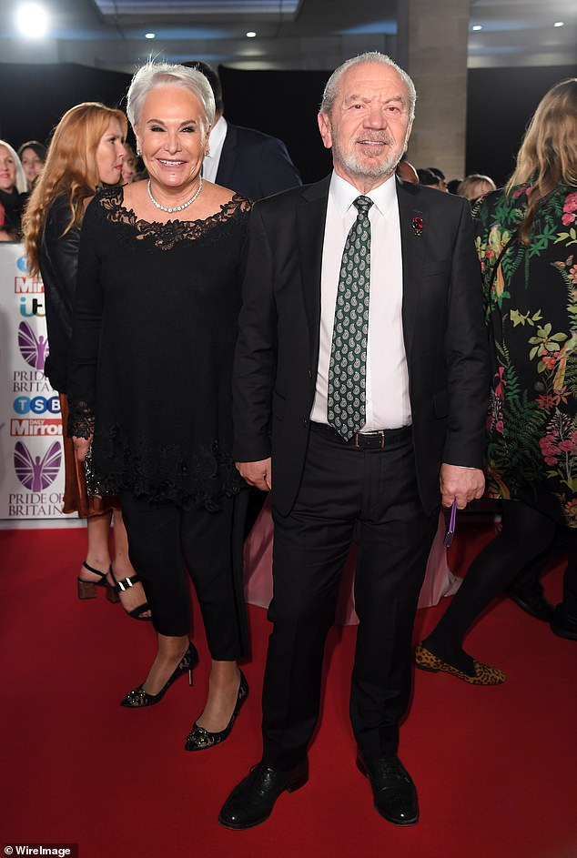 Quarantine: British billionaire Lord Alan Sugar and his wife have avoided hotel quarantine after arriving in Sydney - as they're granted permission to isolate privately