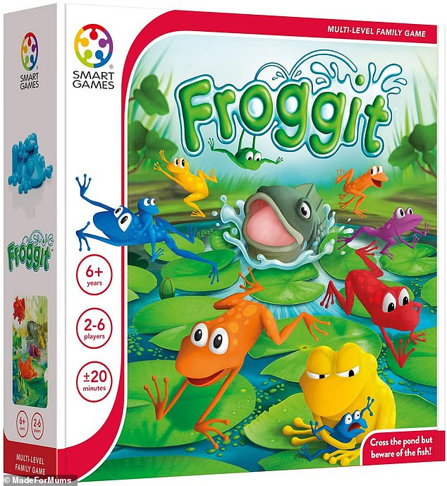Froggit is a lily pad-hopping game for all the family which tasks players with guiding your frogs across the pond
